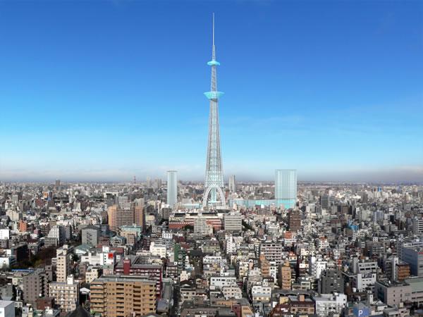 新東京タワー(仮称すみだタワー)