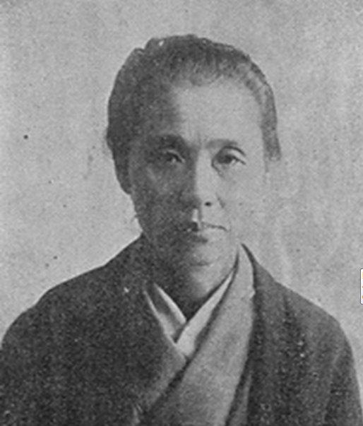 晩年の荻野吟子(国立国会図書館蔵